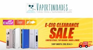 gearbest, cloupor,eleaf, pioneer4you liquidacion