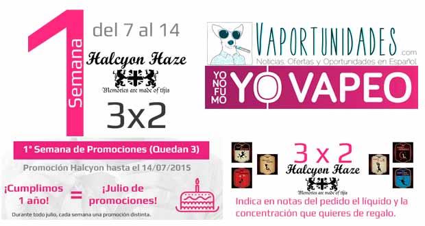 oferta halcyon haze yonofumoyovapeo