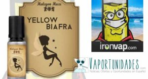 halcyon haze yellow biafra