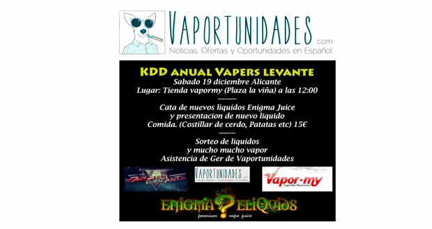 kd vapers levante