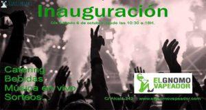 Inauguración - Nuevo local de El Gnomo Vapeador
