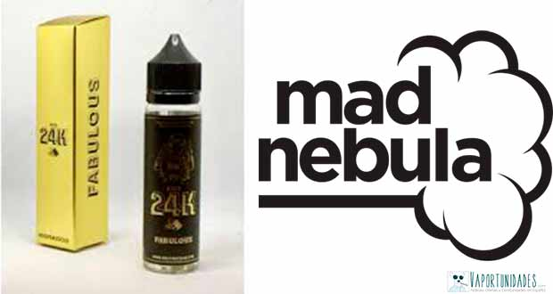 Líquidos 24k - Disponibles en Mad Nebula