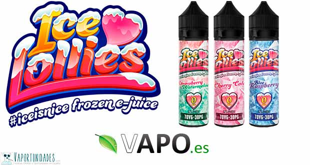 Ice Love Lollies - Frescor en Vapo.es