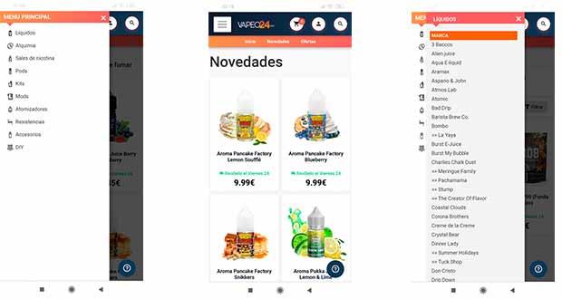 Vapeo24 - Nueva tienda online