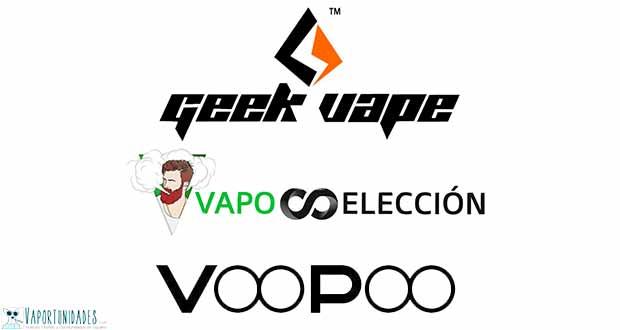 Voopoo y Geekvape - Mods de Vaposeleccion
